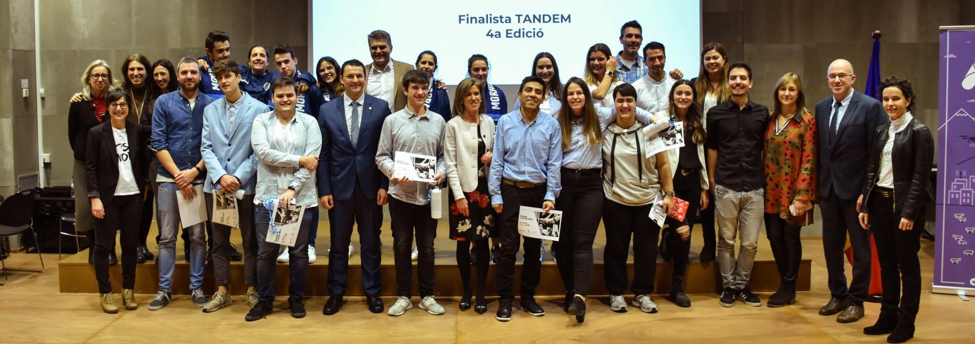Una aplicació per fer donacions a Unicef guanya la quarta edició de Tàndem