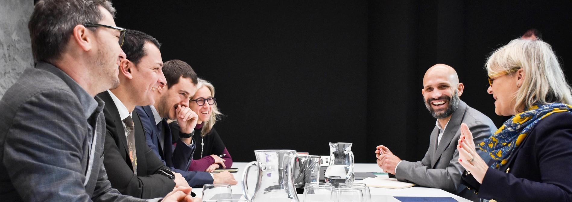 Una delegació canadenca arriba a Andorra per conèixer els projectes d'innovació del país i estrènyer relacions econòmiques