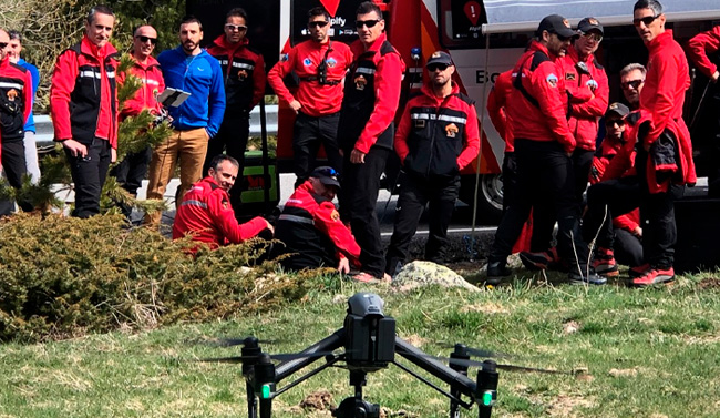 Laboratoire de drones
