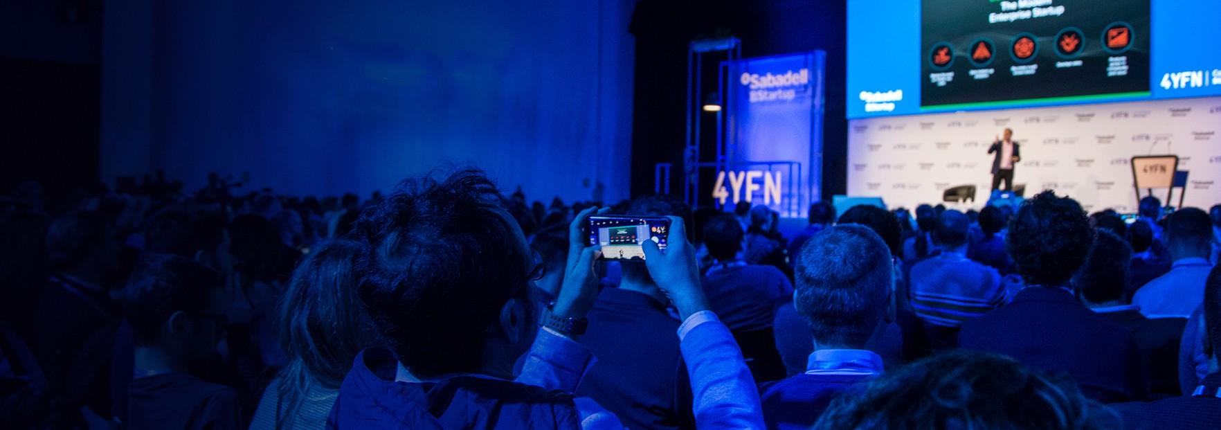 la plateforme d'innovation organisée dans le cadre du Mobile World Congress