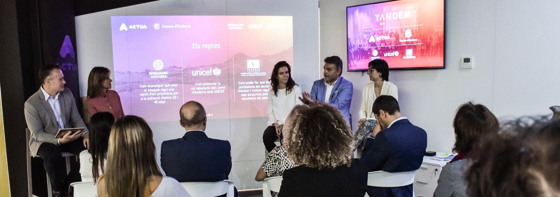 Unicef et Vatel travailleront avec des étudiants en formation professionnelle lors de la quatrième édition du projet Tàndem