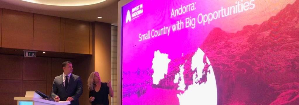 Actua y el Gobierno presentan en el foro empresarial más importante de Turquía las oportunidades de negocio en Andorra