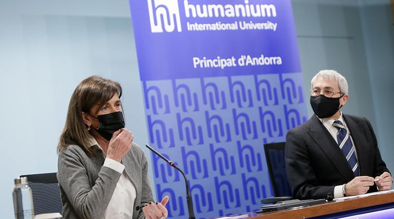 Humanium International University, també aterra a Andorra amb el suport d'Actua Empresa
