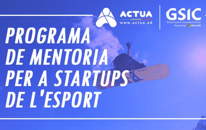 Programme de mentorat pour les startups sportives
