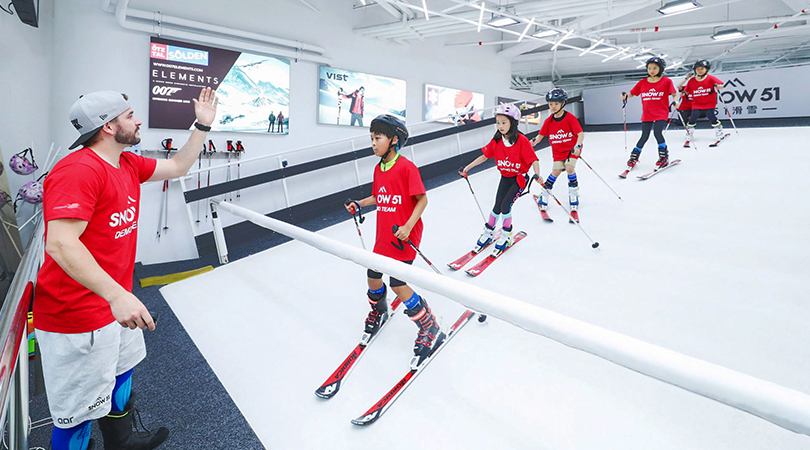 Un terrain d'entrainement pour skier toute l'année remporte l'Andorra Sports Startup Challenge promu par Actua et Microsoft