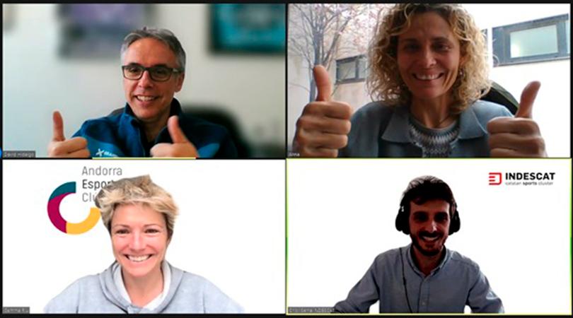INDESCAT i l'Andorra Esports Clúster compartiran coneixement i experiències