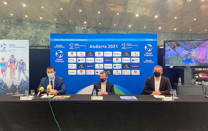 Andorra acollirà per primera vegada el campionat del món de triatló d'hivern