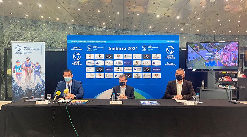 L'Andorre accueillera pour la première fois les Championnats du monde de triathlon d'hiver