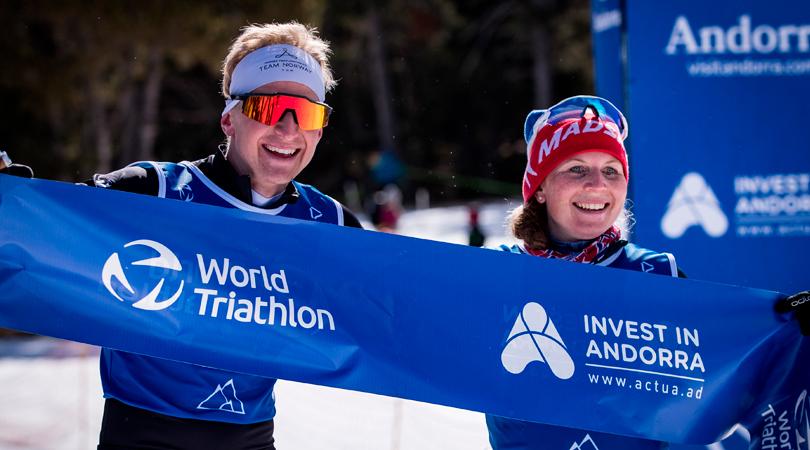 Andorra organiza con éxito el campeonato del mundo de triatlón, con Noruega como gran destacada
