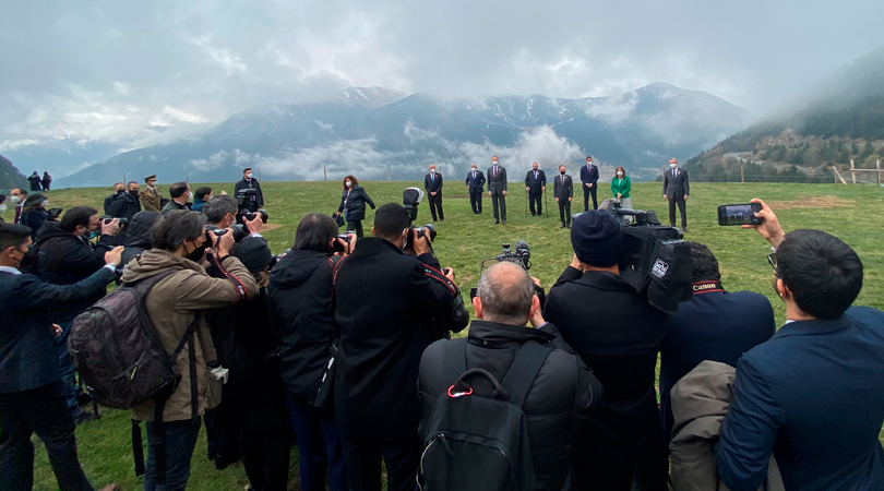 Andorra ha acogido con un gran éxito de organización la XXVII Cumbre Iberoamericana