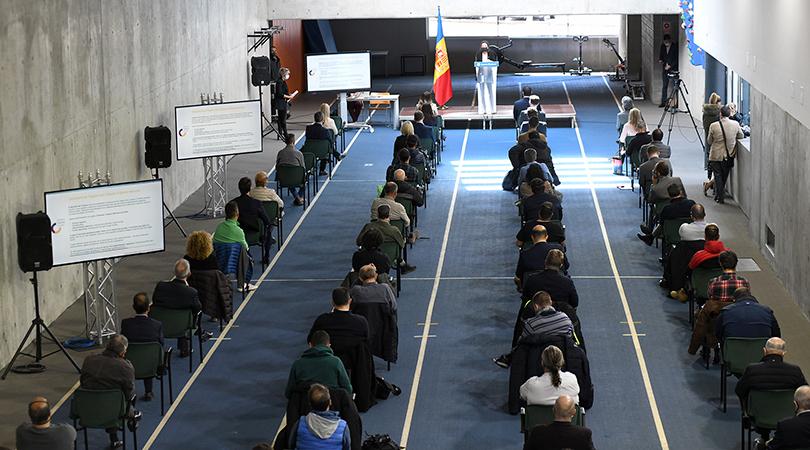 Andorra declara el deporte como Sector de Interés Nacional para potenciarlo en tiempos de pandemia