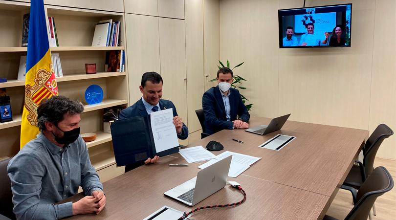 Andorra e Israel trabajarán conjuntamente en el desarrollo del ecosistema de innovación y empresas emergentes del Principado