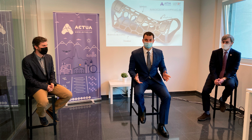 Andorra closes an agreement with Leitat in order to boost 4.0 industry