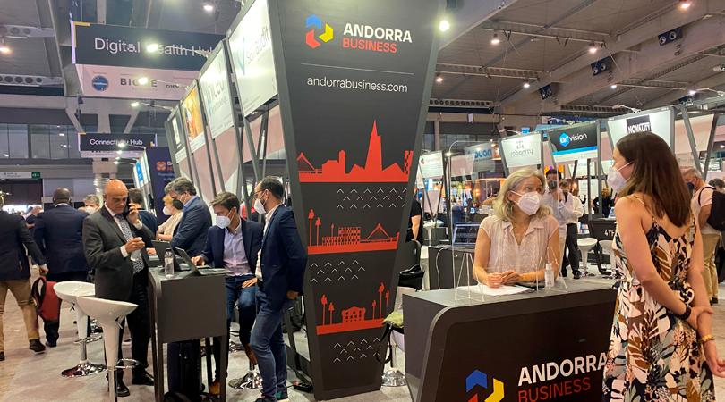 Andorra Business y ocho empresas del país, presentes en el Mobile World Congress