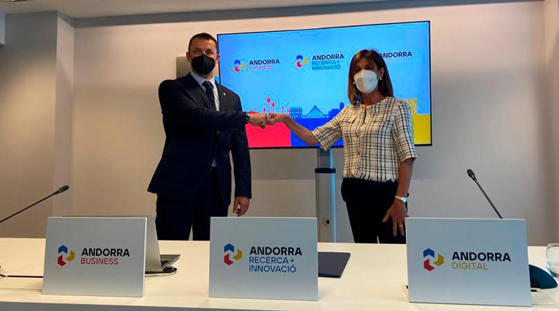 Nacen Andorra Business, Andorra Recerca i Innovació y Andorra Digital
