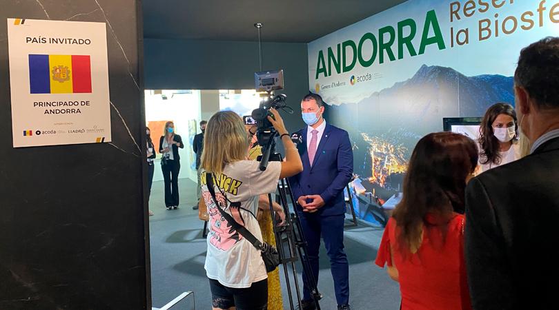 El modelo de sostenibilidad de Andorra y la calidad de vida del país acaparan la atención de la Design Week Marbella