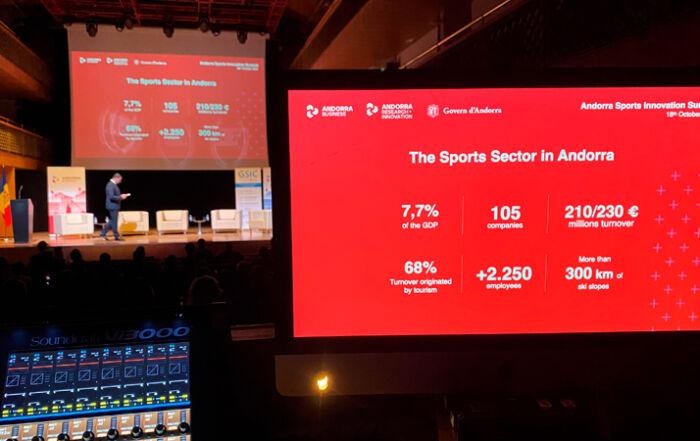 L'Andorra Sports Innovation Summit penja el cartell de complet per escoltar els experts del sector