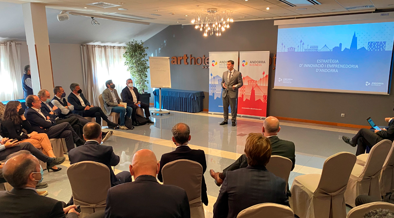 Andorra Research + Innovation and Andorra Business, alongside various of the country´s experts, are finalizing the national strategy for innovation and entrepreneurship