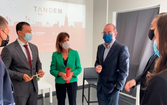 Presentació de la sisena edició del Projecte Tàndem d'Andorra Business